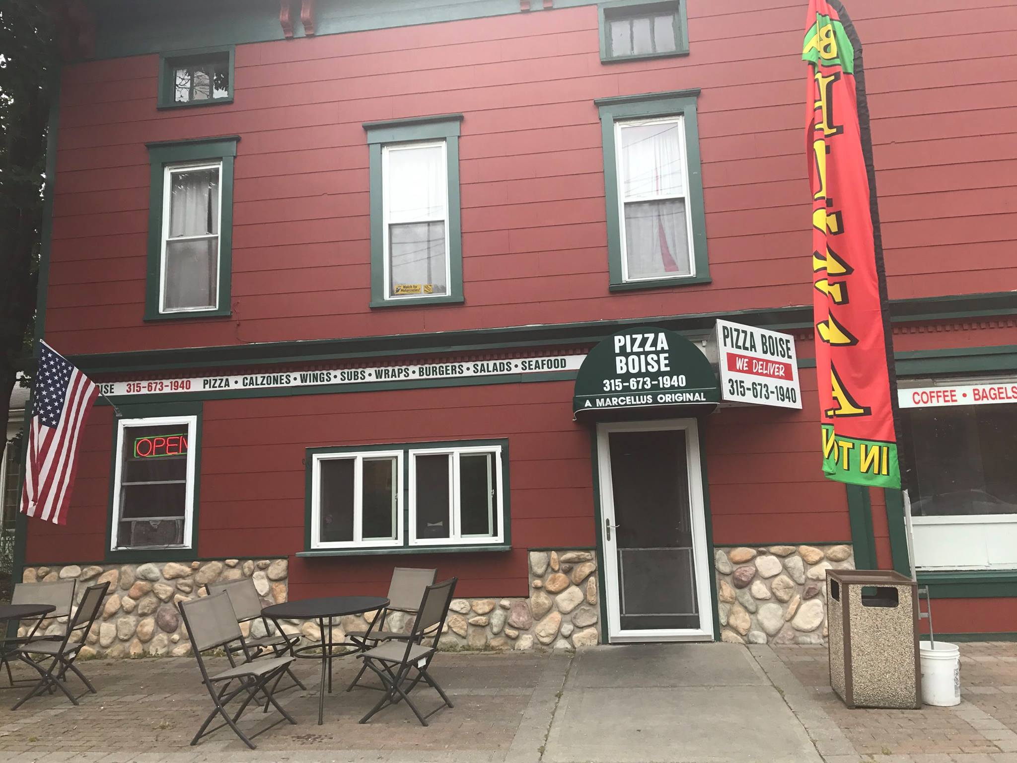 Pizza Boise Building Remodel